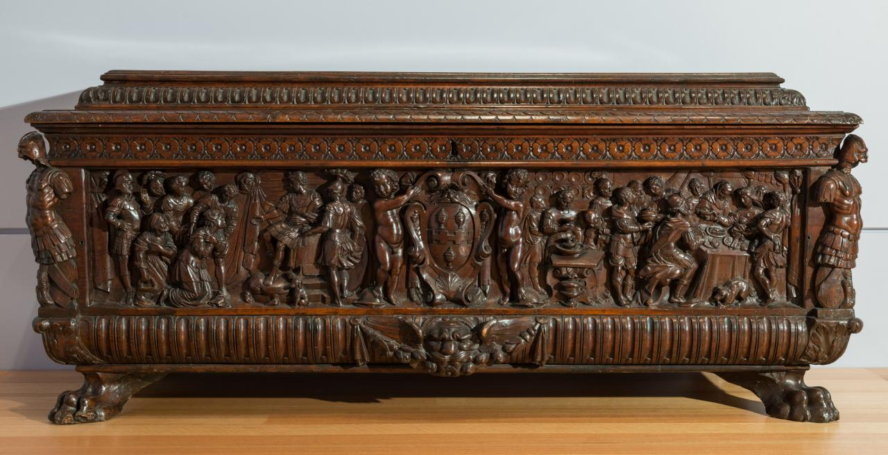 Judith and Holofernes, chest (Cassone)