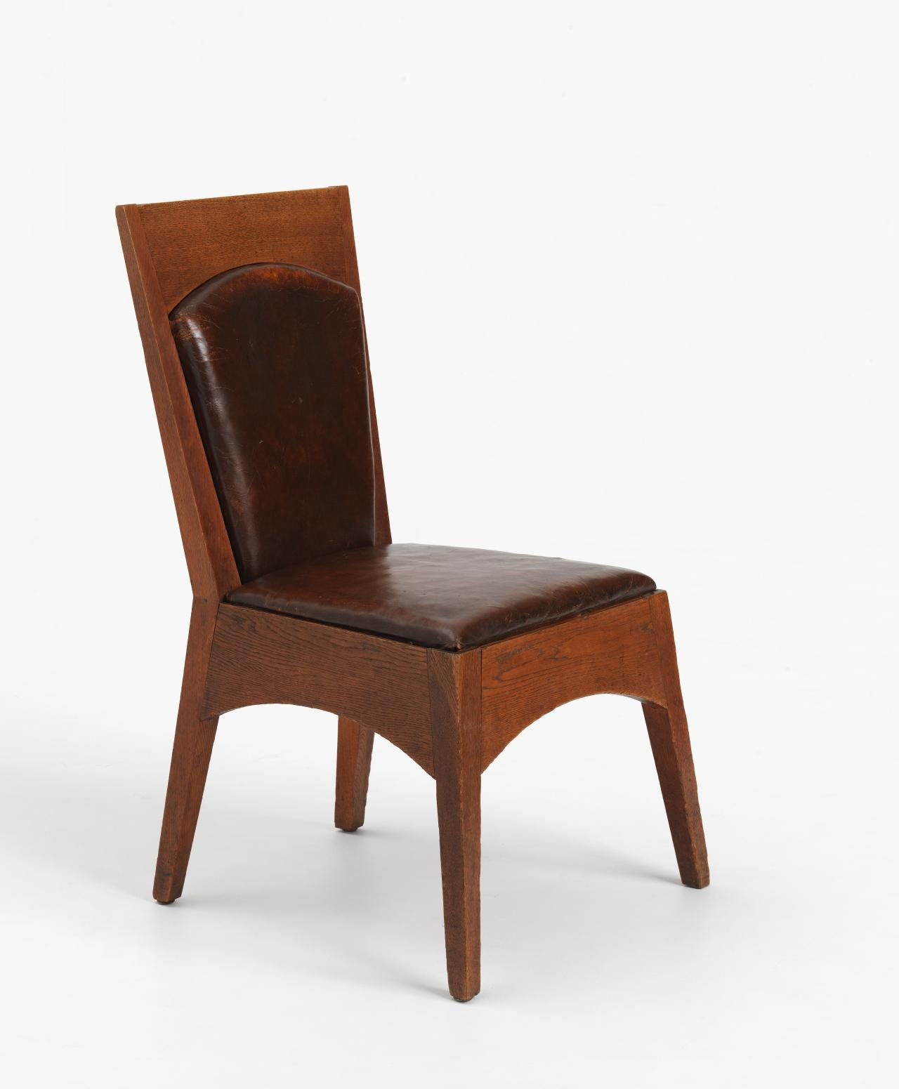 Suite of furniture from Newman College, University of Melbourne: straight chair