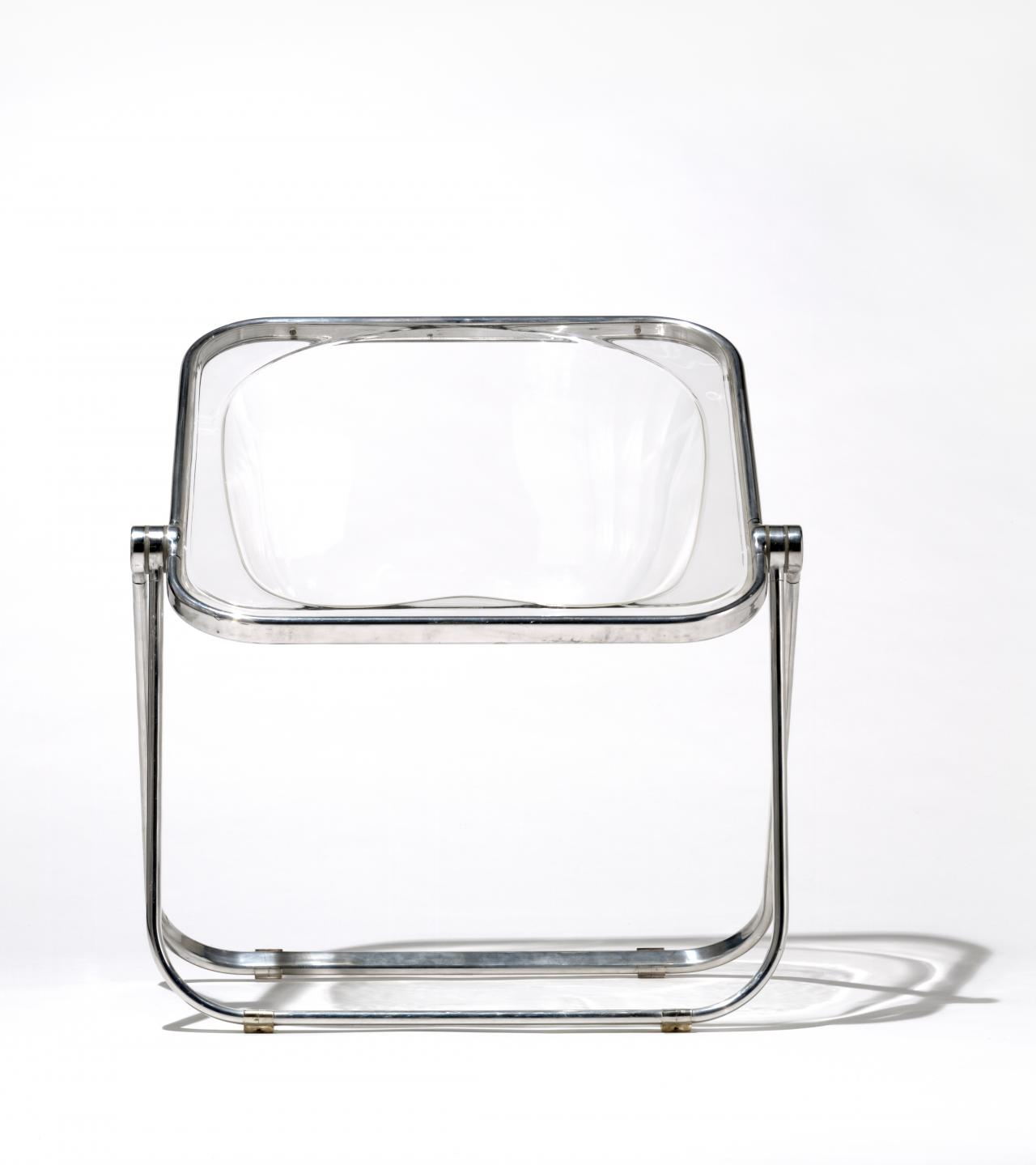 Giancarlo Piretti Design.Plona Folding Chair Giancarlo Piretti Designer Anonima