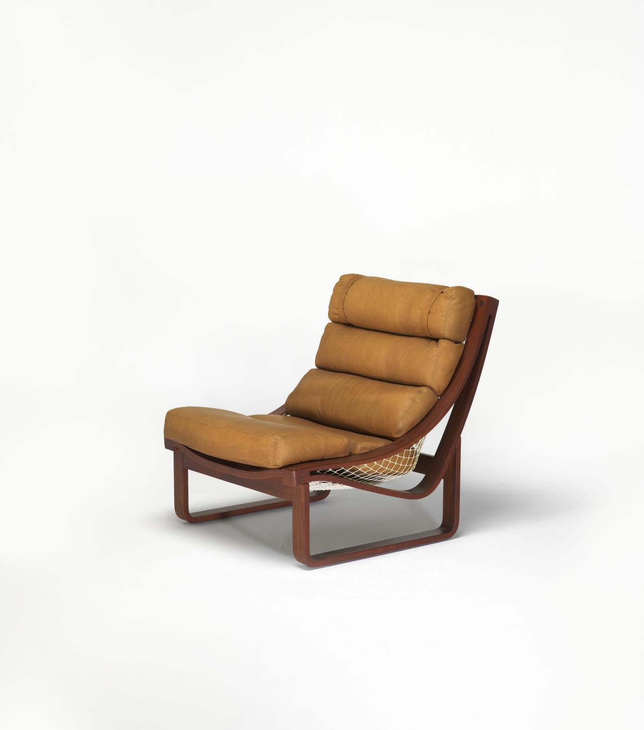 Twen T-Four lounge chair and footstool