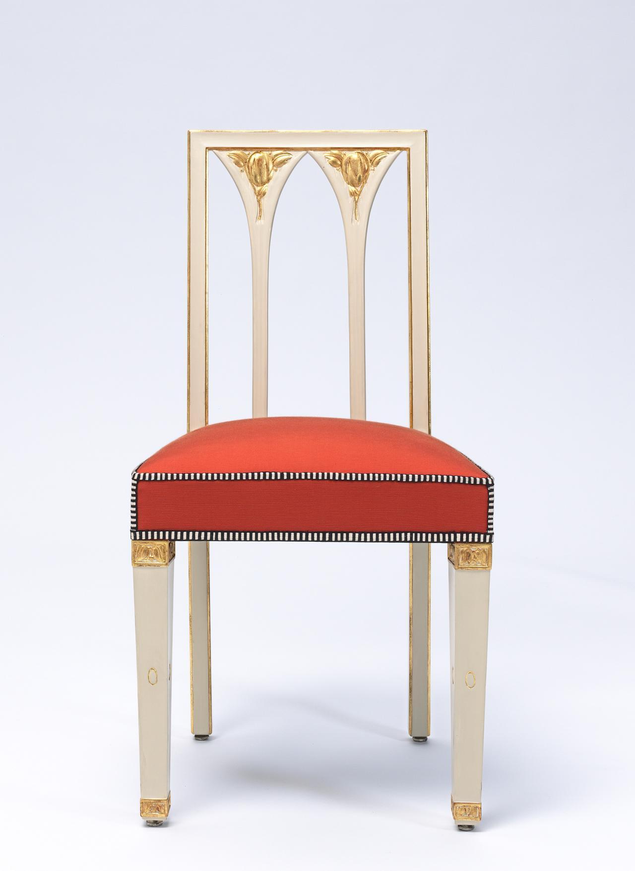 Chair From The Gallia Apartment Boudoir Josef Hoffmann