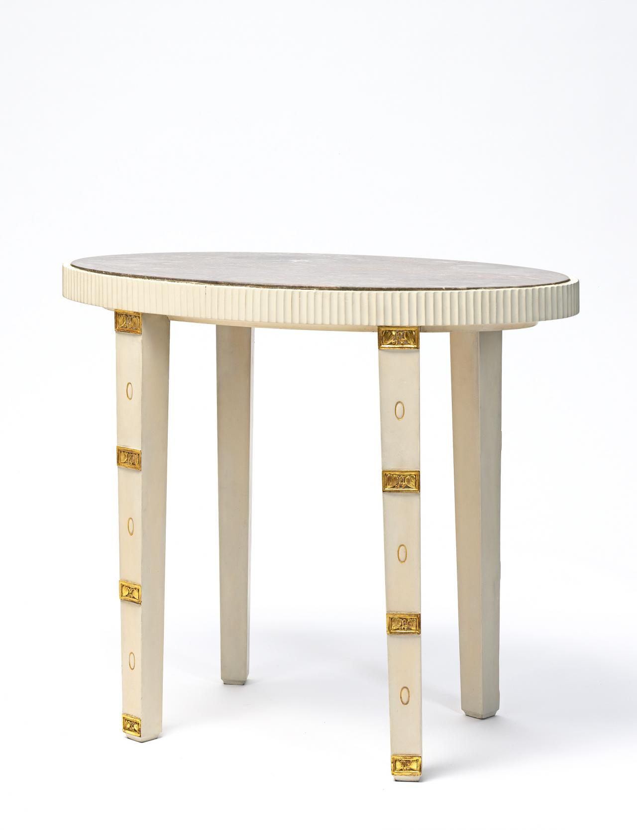 Occasional table, from the Gallia apartment boudoir