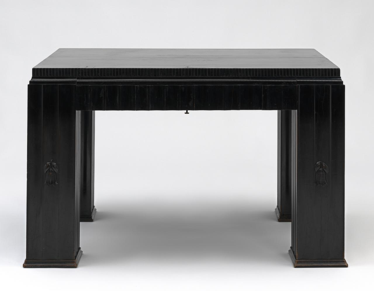 Dining table, from the Gallia apartment hall