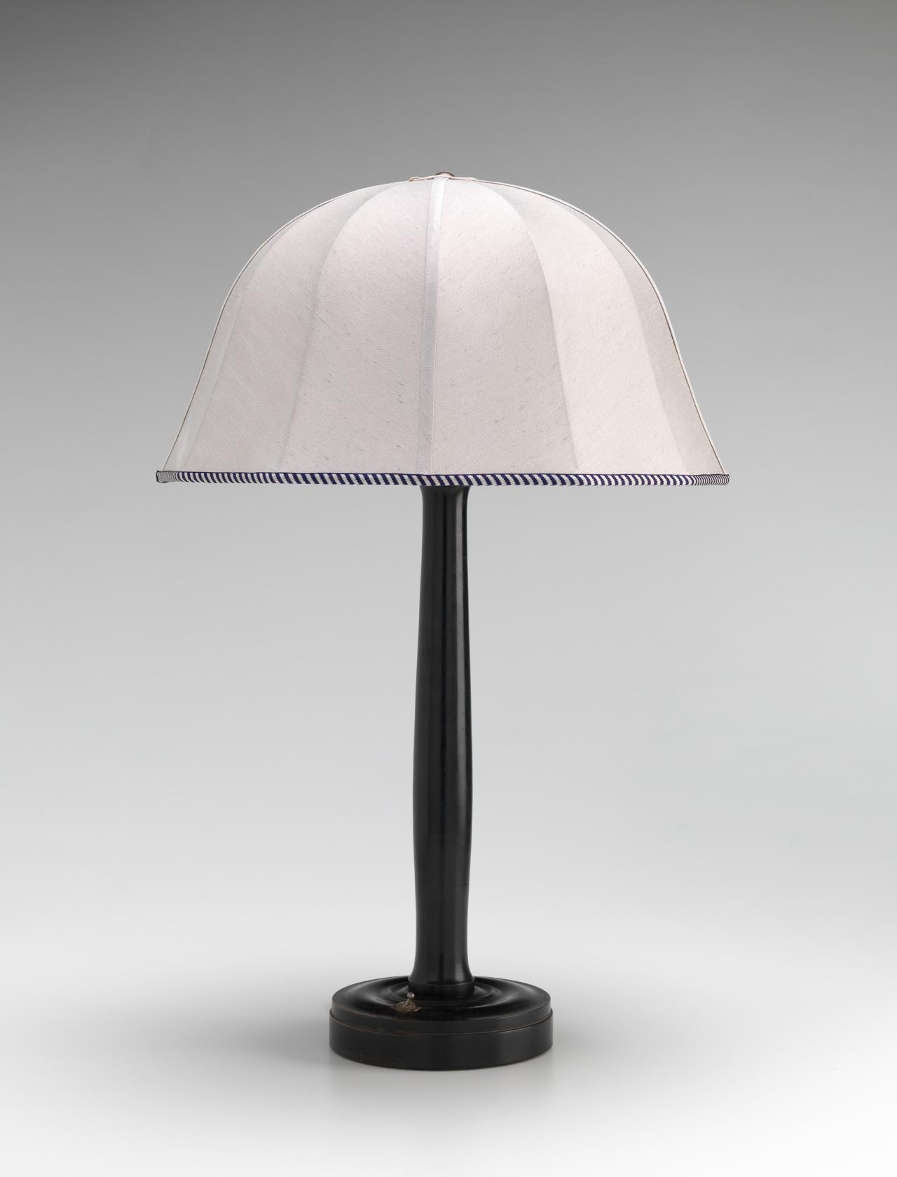 Table lamp, from the Gallia apartment smoking room