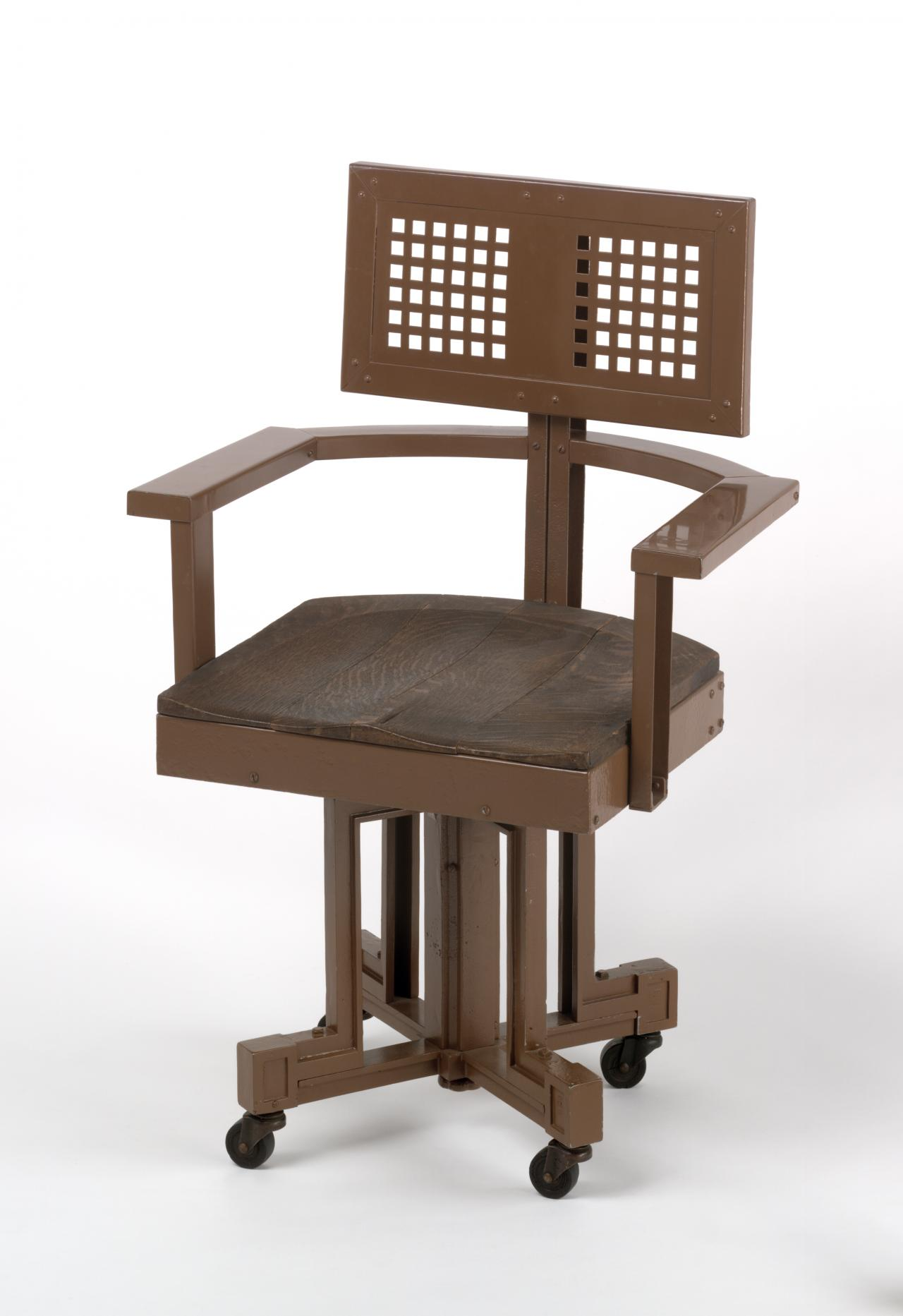 Office chair, from the Larkin Company Administration Building, Buffalo, New York