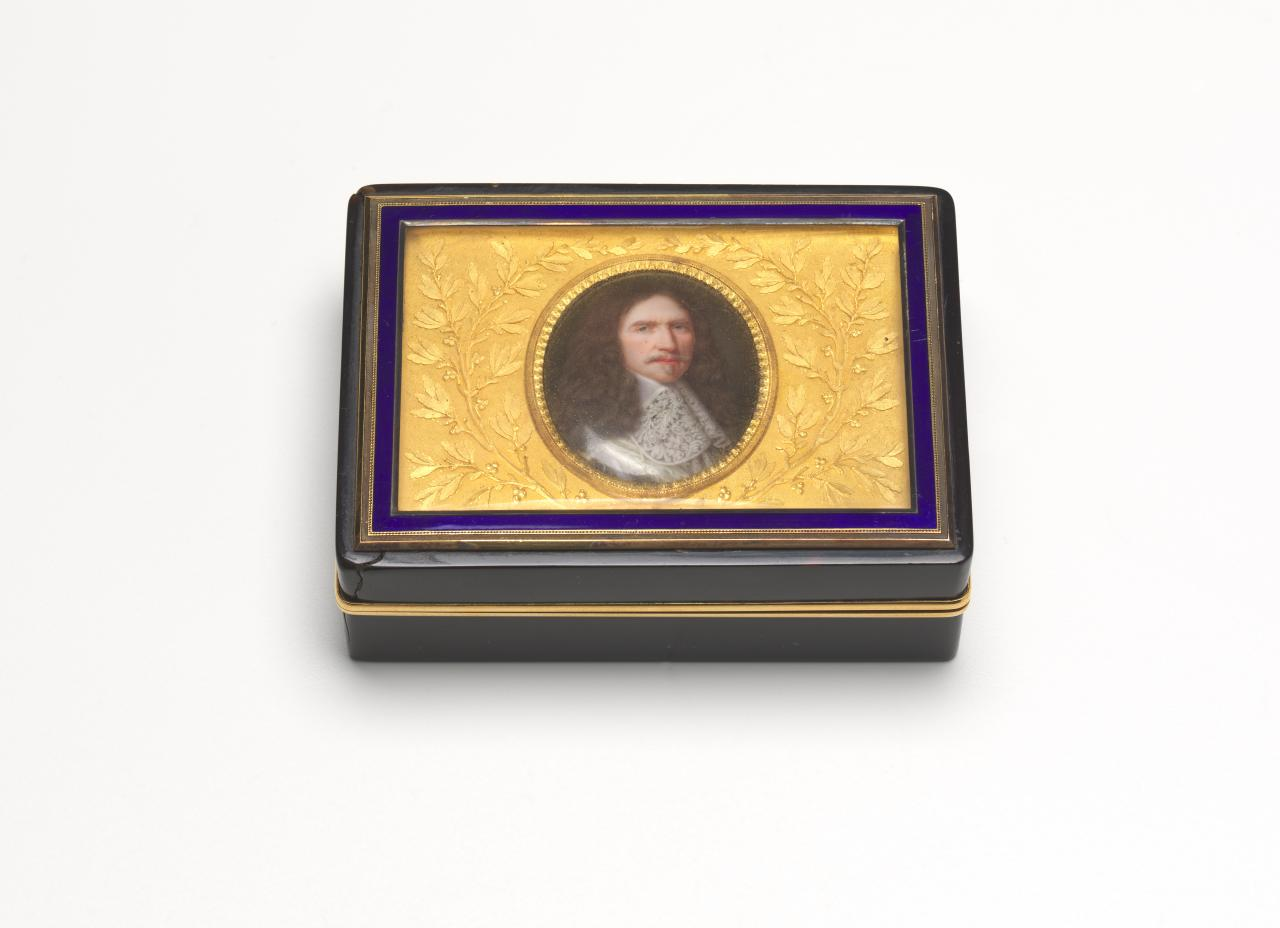 Snuff box with miniature of Marshal de Turenne