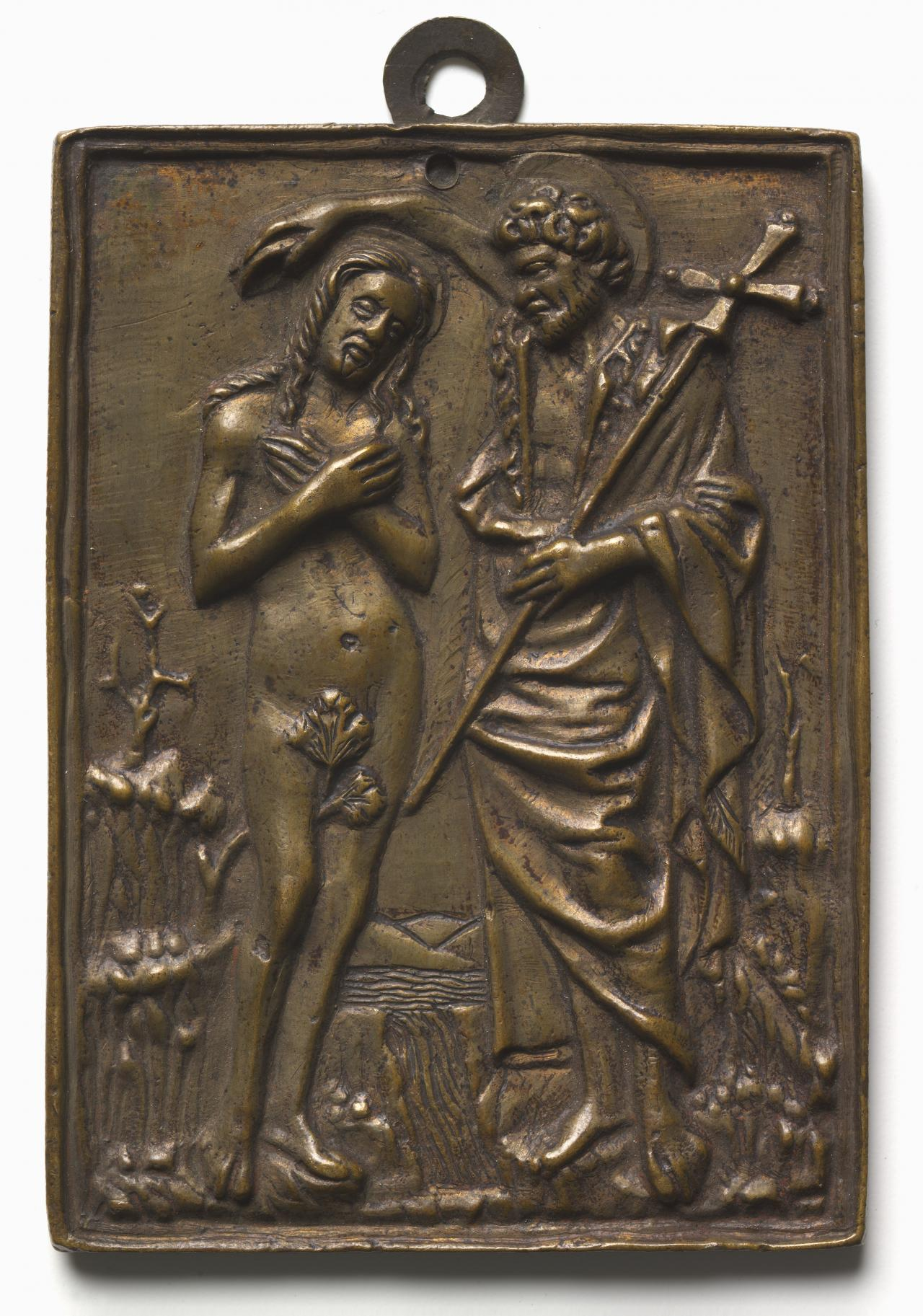 Baptism of Christ, plaquette