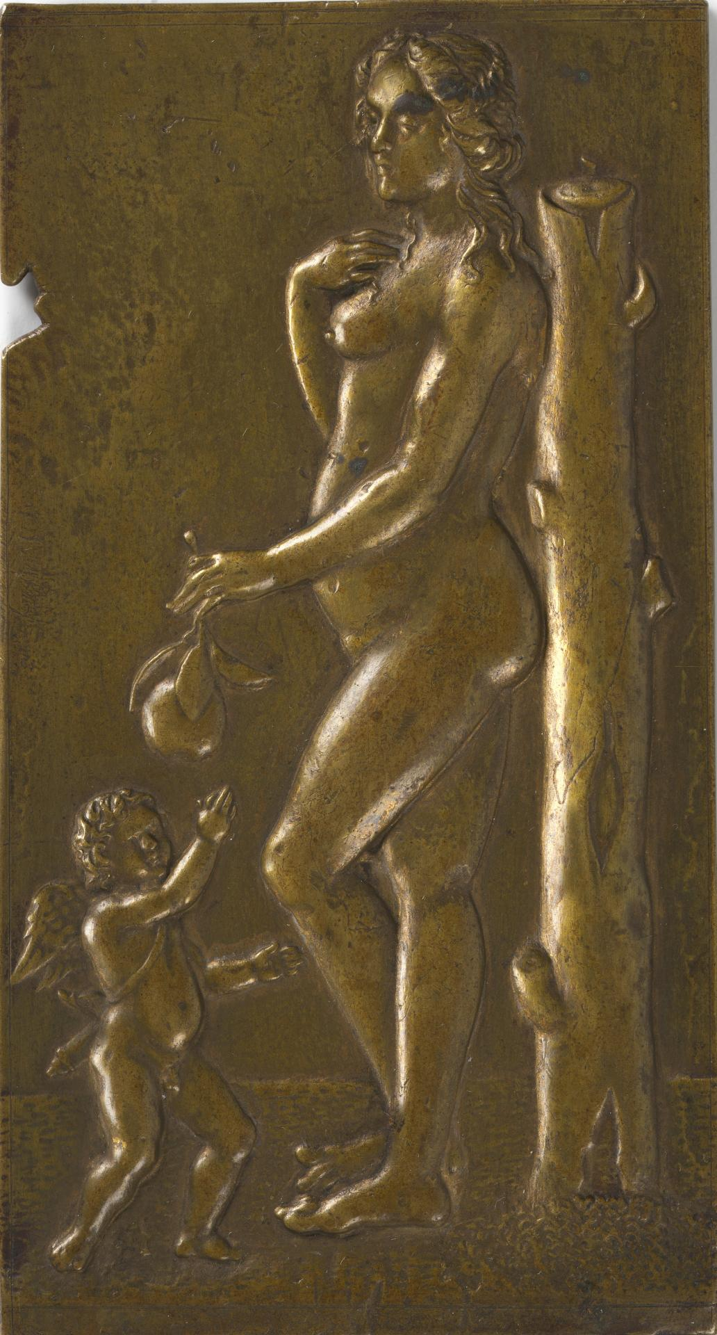 Venus and Cupid, plaquette