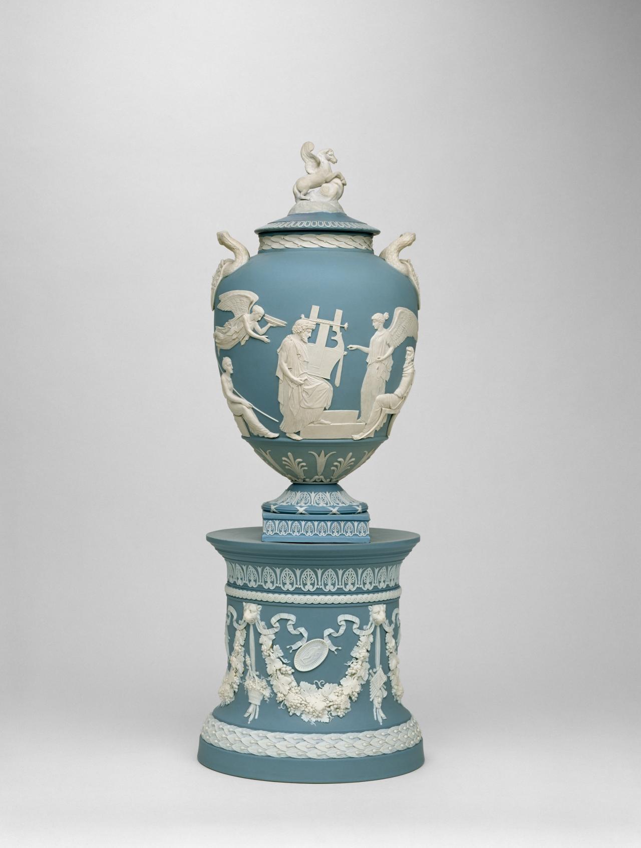 The Apotheosis Of Homer Vase