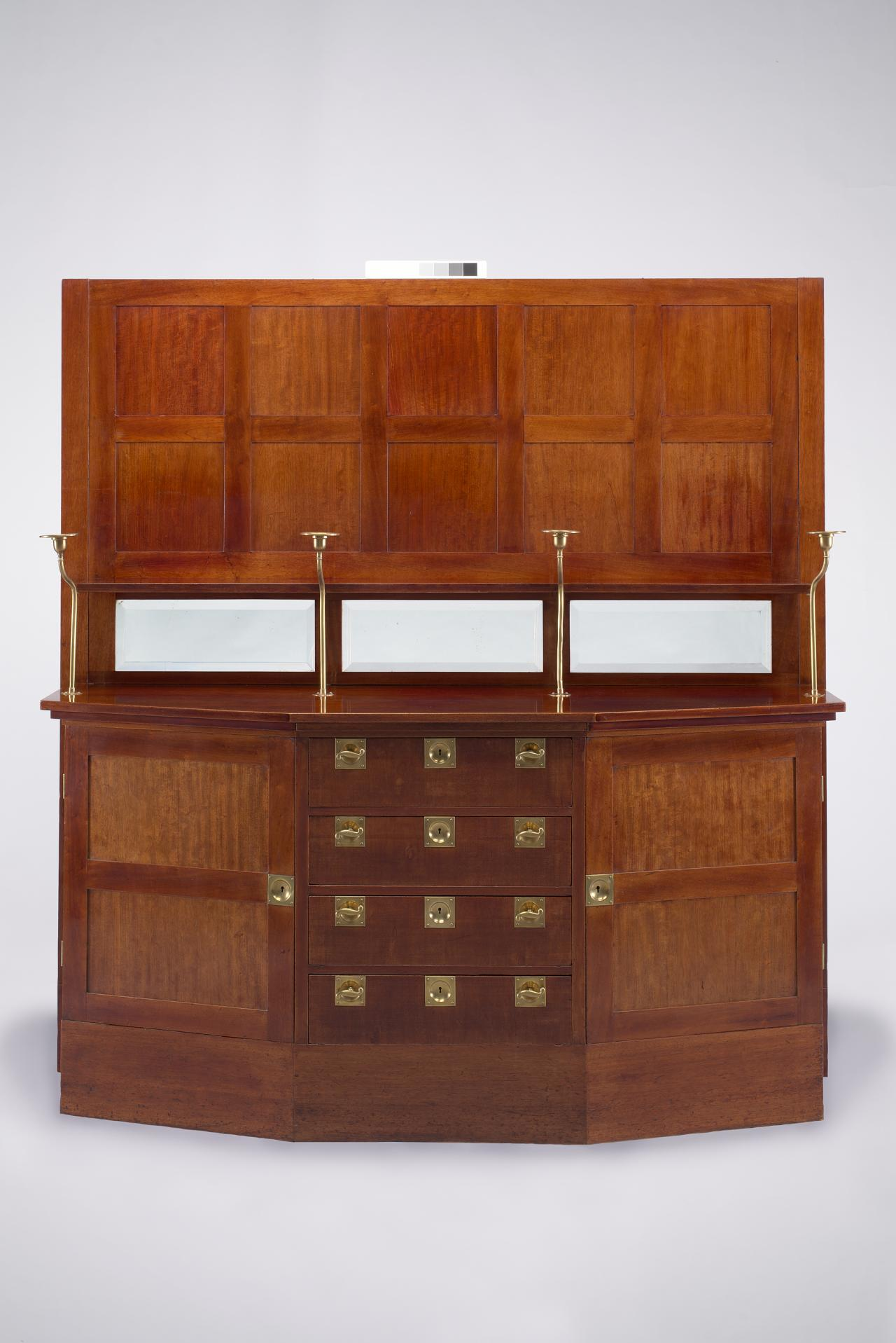 Sideboard From The Langer Apartment 1903 Adolf Loos