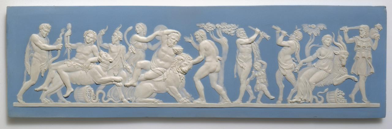 Triumph of Bacchus, plaque