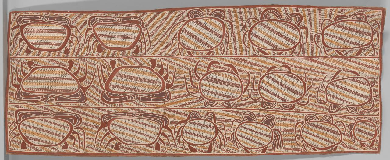 Untitled (Mangrove crabs associated with the Djang'kawu creation story)