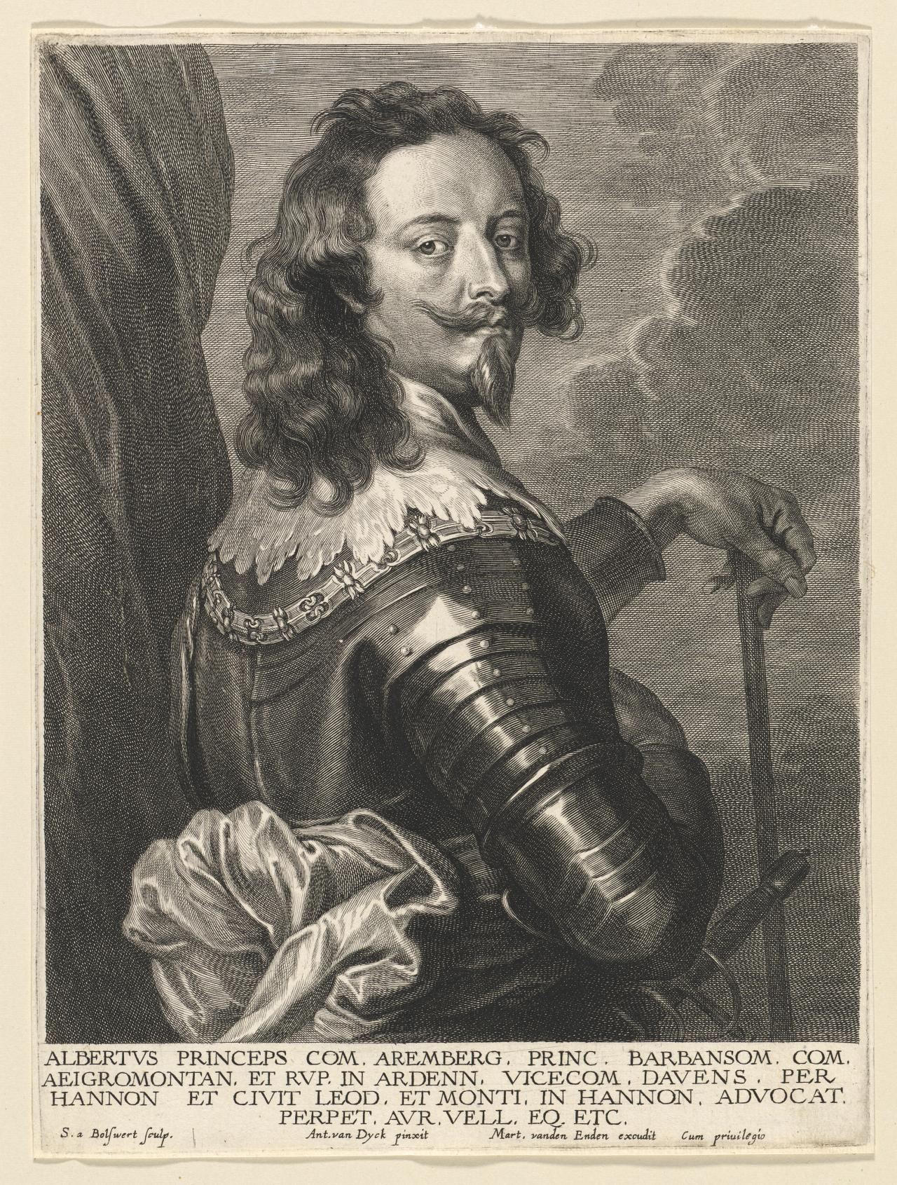 Albert de Ligne, Prince of Arenberg and  Barbançon