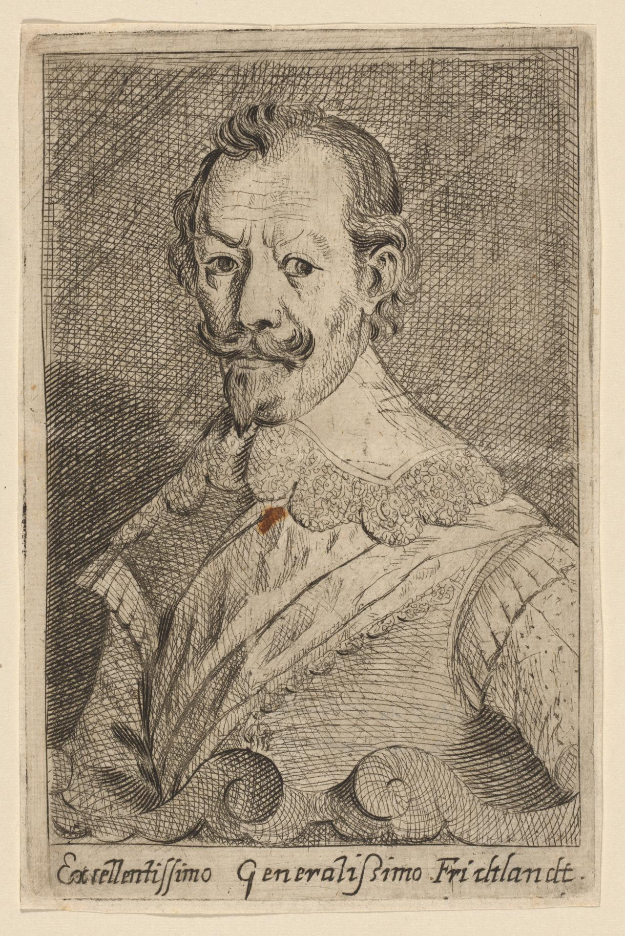 General Albert Wallenstein, Duc de Friedland