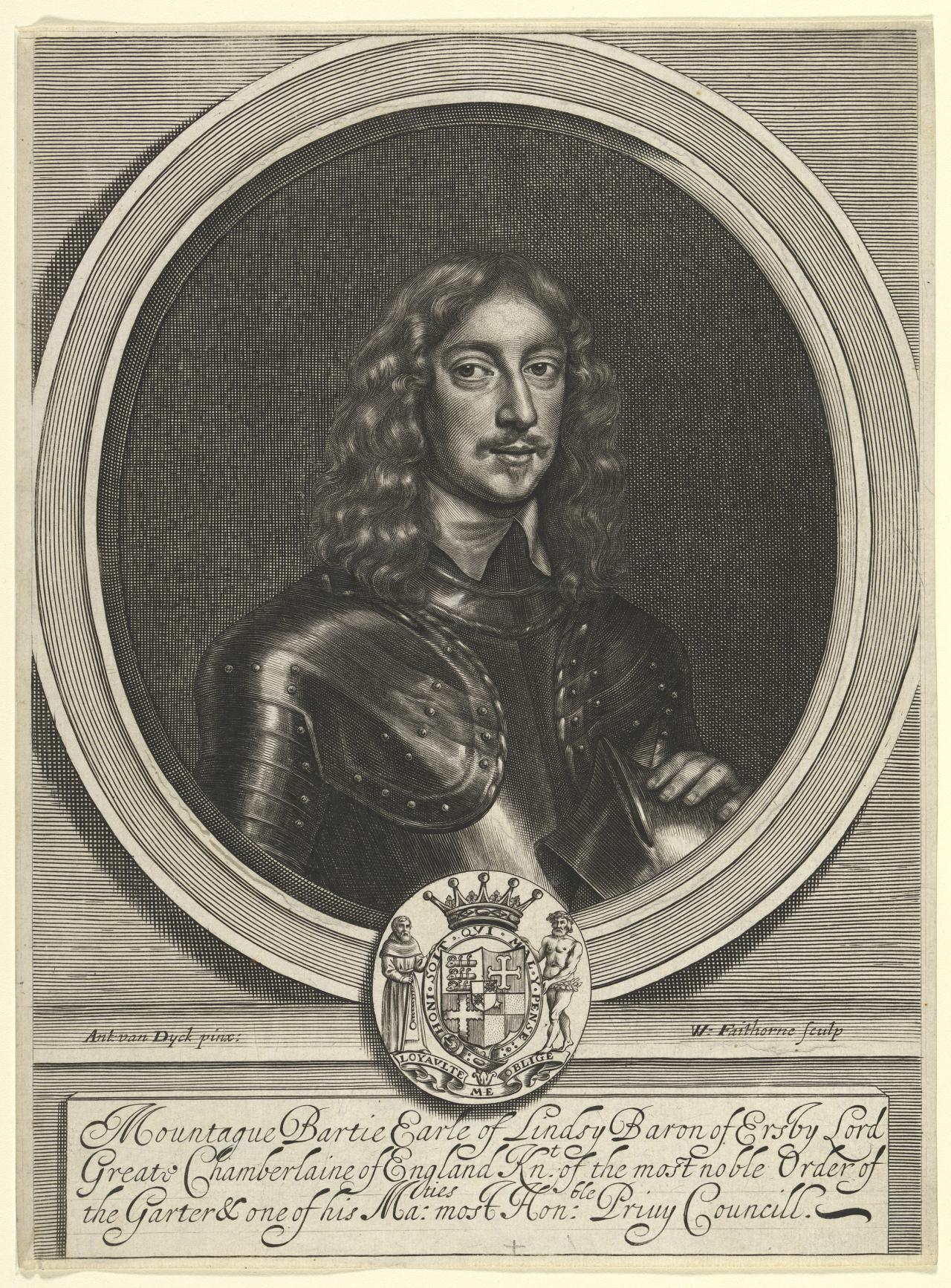 Montague Bertie, 2nd Earl of Lindsey, K.G.; Royalist 1608(?)-1666