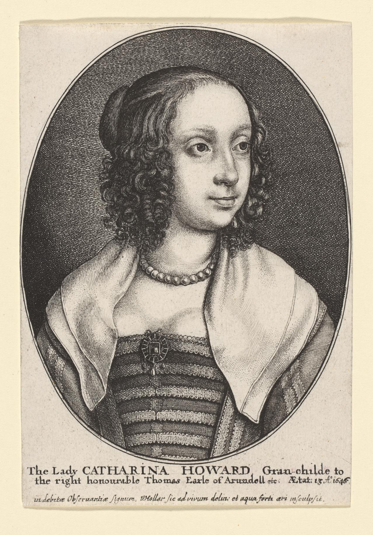 Catherine Howard aged 13