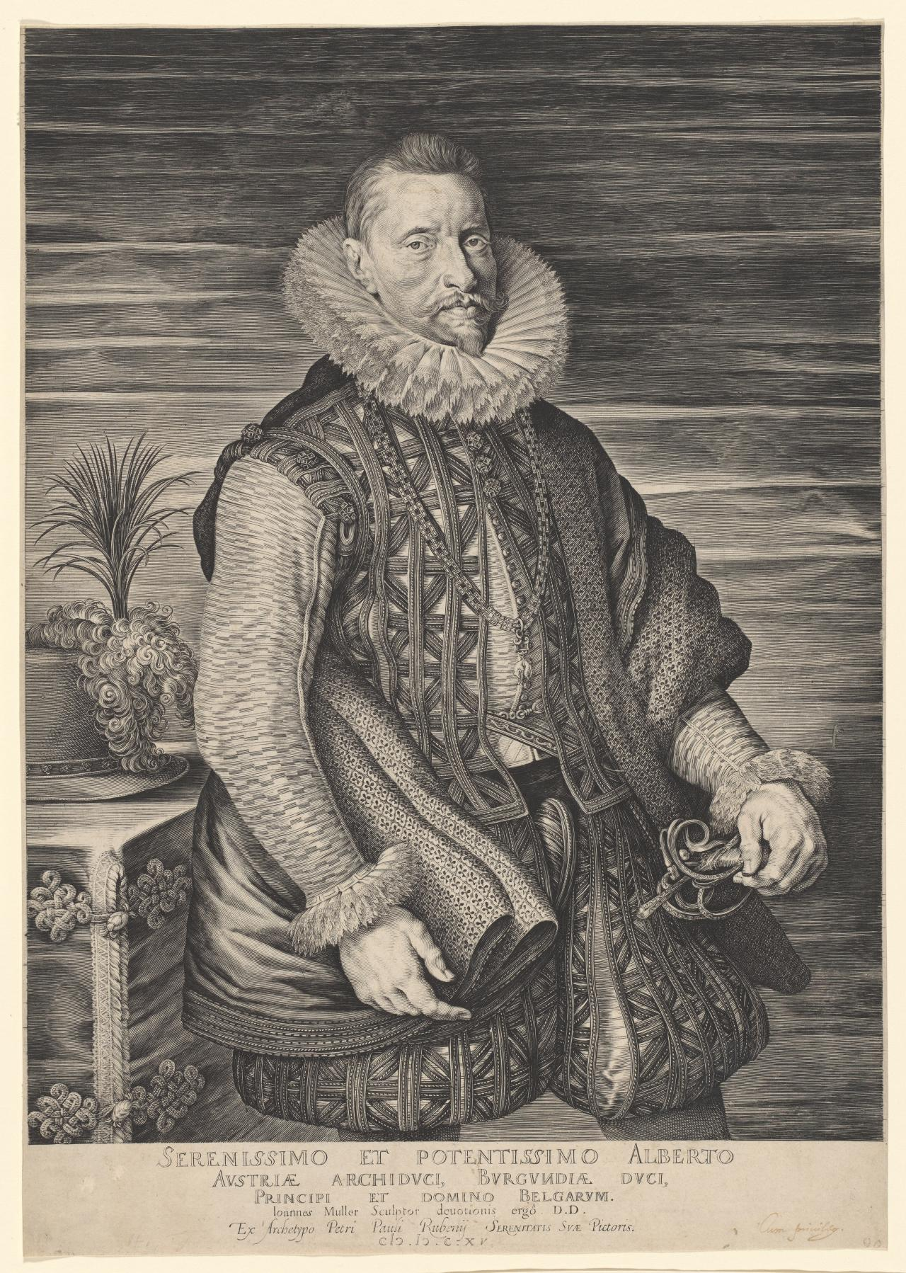 Albert, Archduke of Austria and Sovereign of the Lowlands