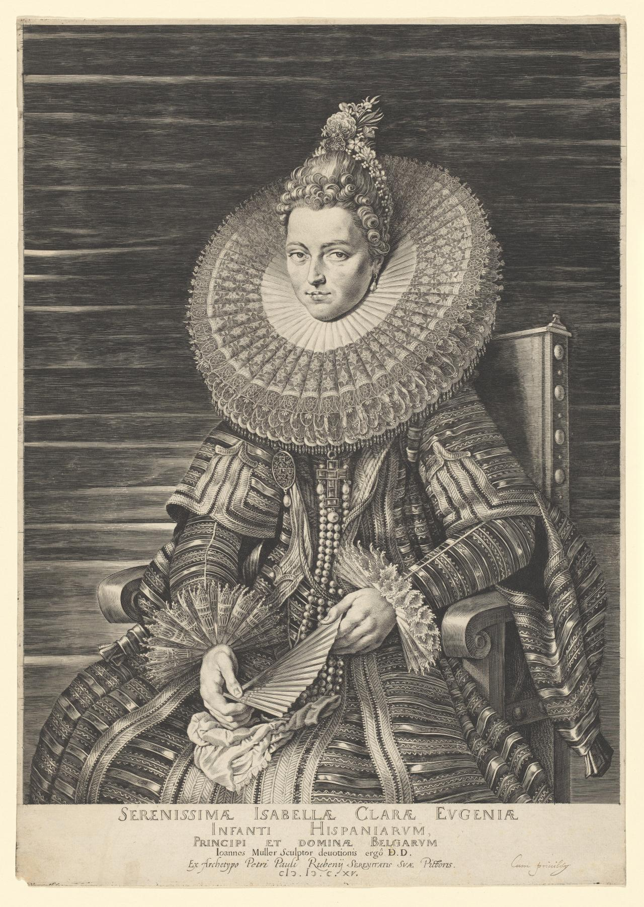 Isabella Clara Eugenie, Infanta of Spain and Sovereign of Lowlands