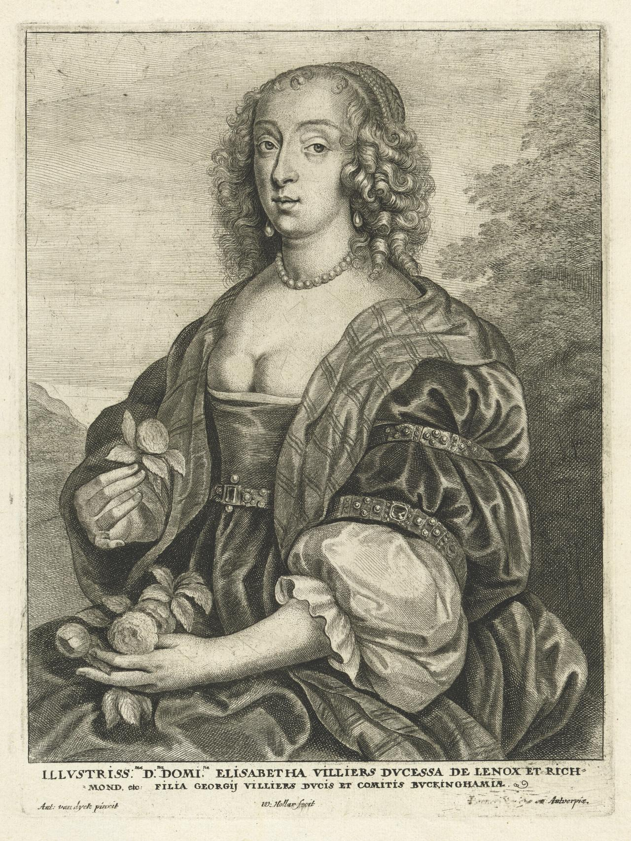 Elisabeth Villiers, Duchess of Lennox and Richmond
