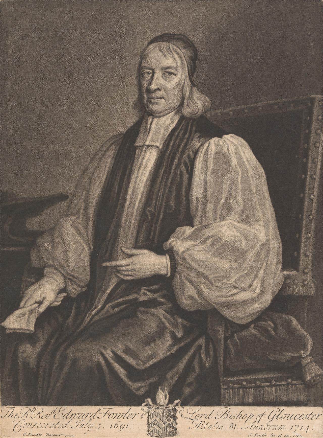 The Right Reverend Edward Fowler