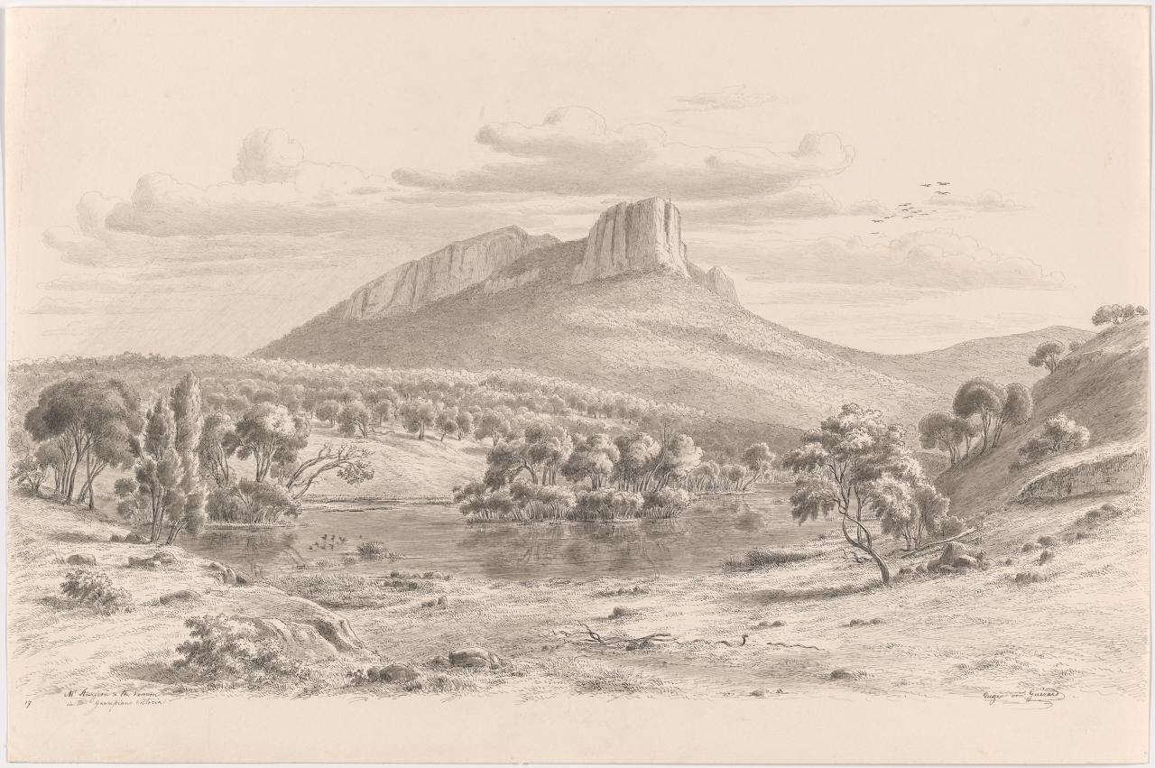 Mt. Sturgeon and the Wannon in the Grampians, Victoria