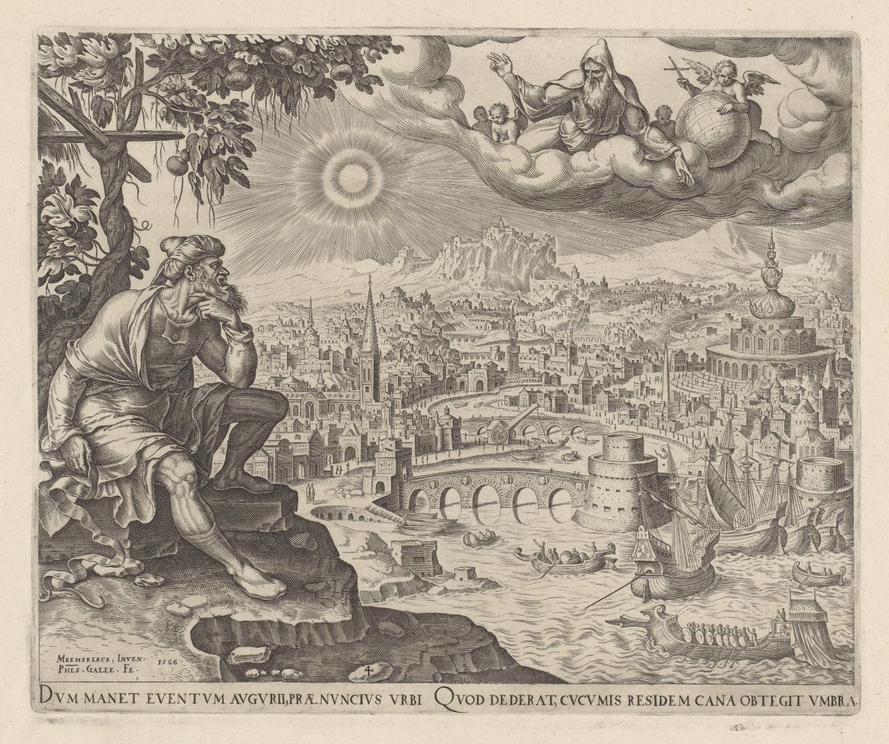 Jonah Watching over the City of Nineveh