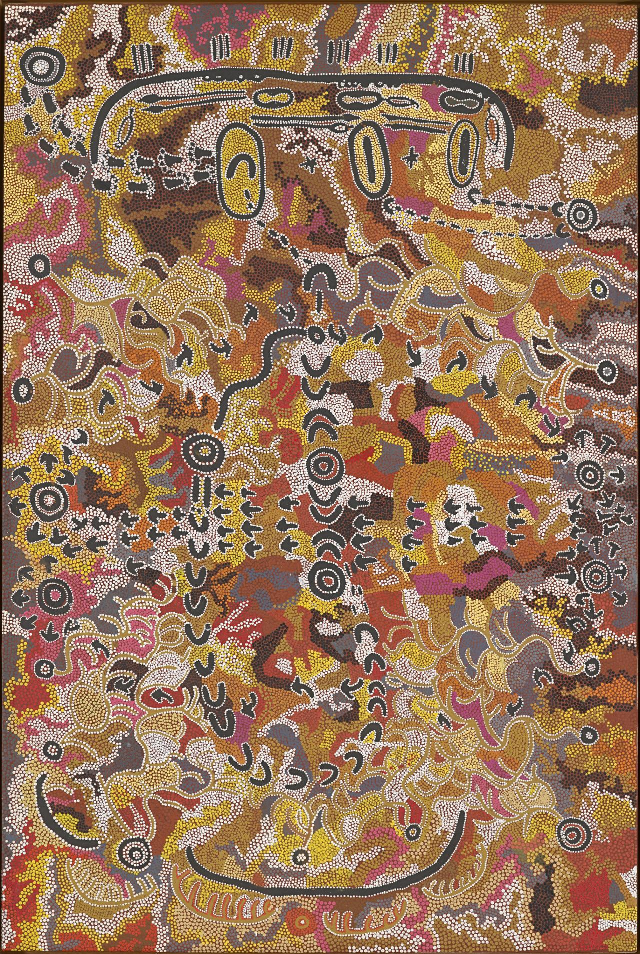 Warlukurlangu Jukurrpa (fire country Dreaming)