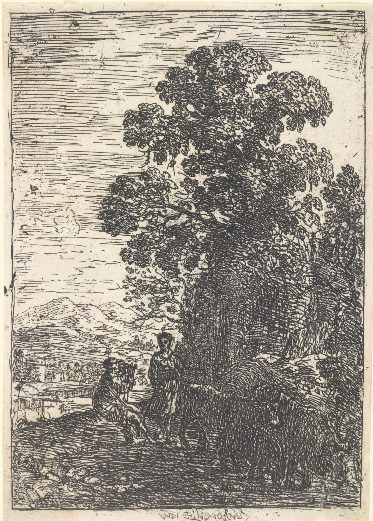Shepherd and Shepherdess (le Patre et la Bergere)