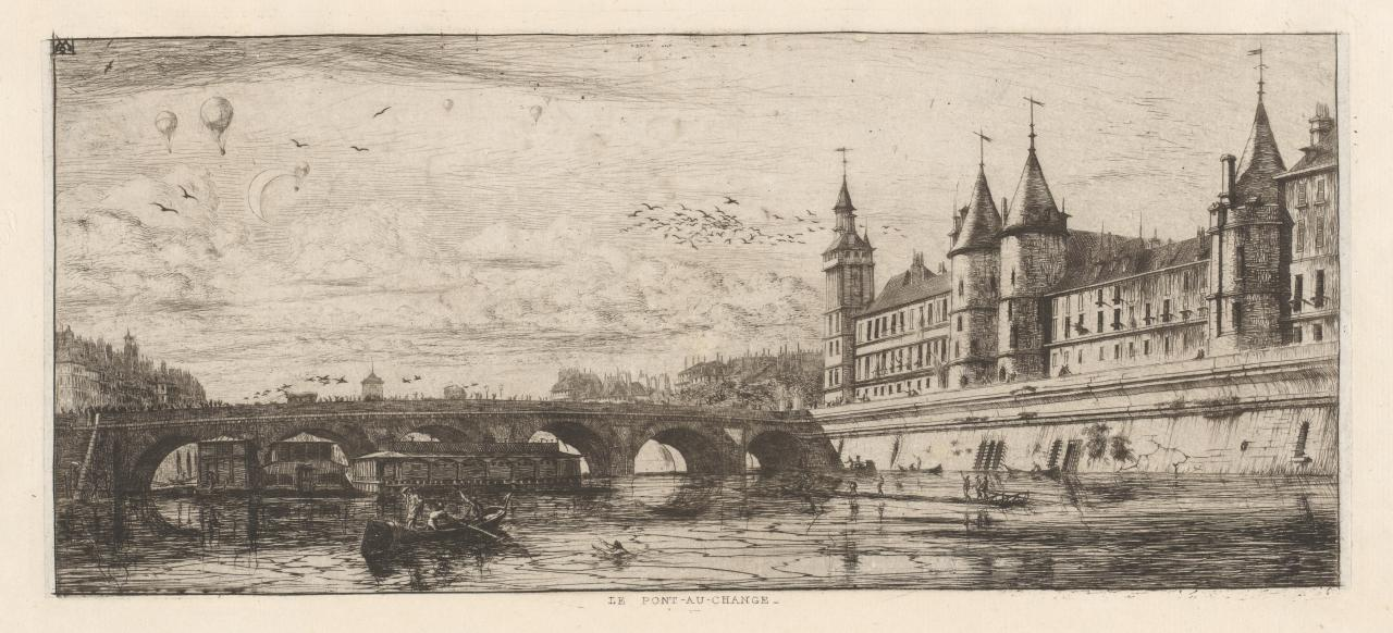 The Exchange Bridge, Paris