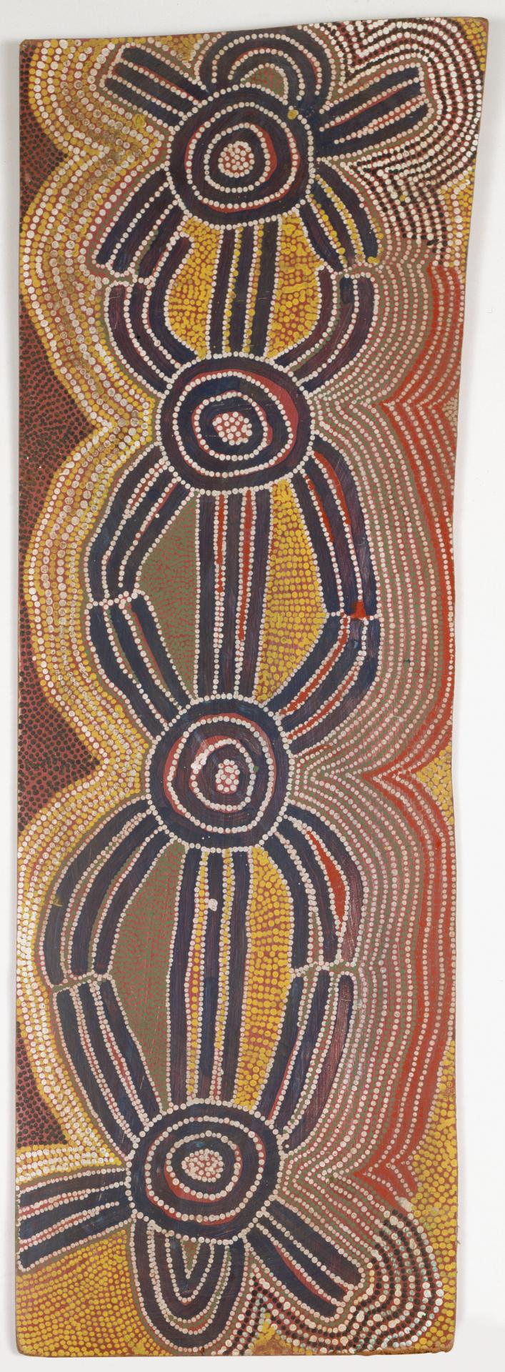 Lungkarda Jukurrpa (Blue-tongue Lizard Dreaming)