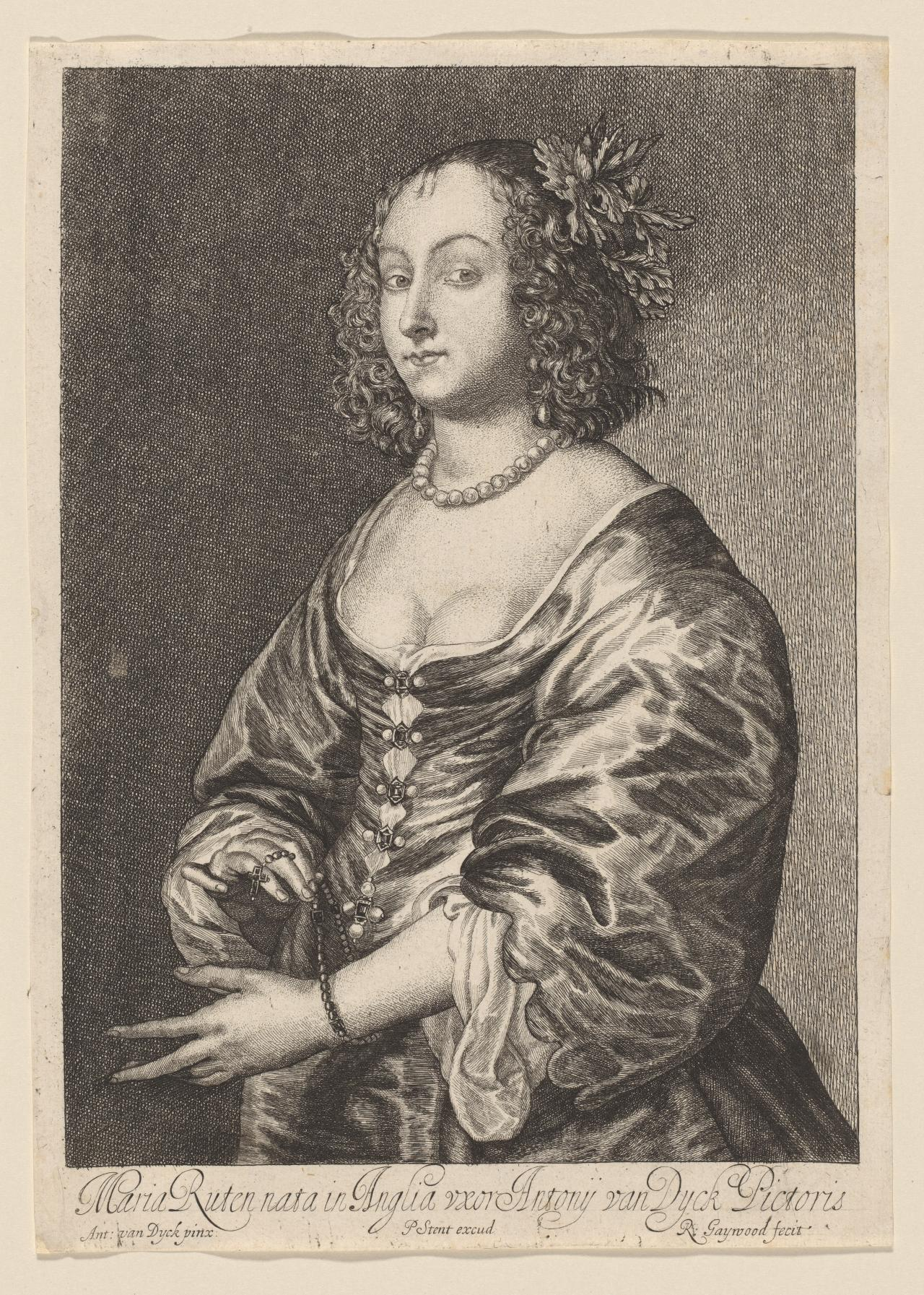 Mary Ruthven, Wife of Van Dyck