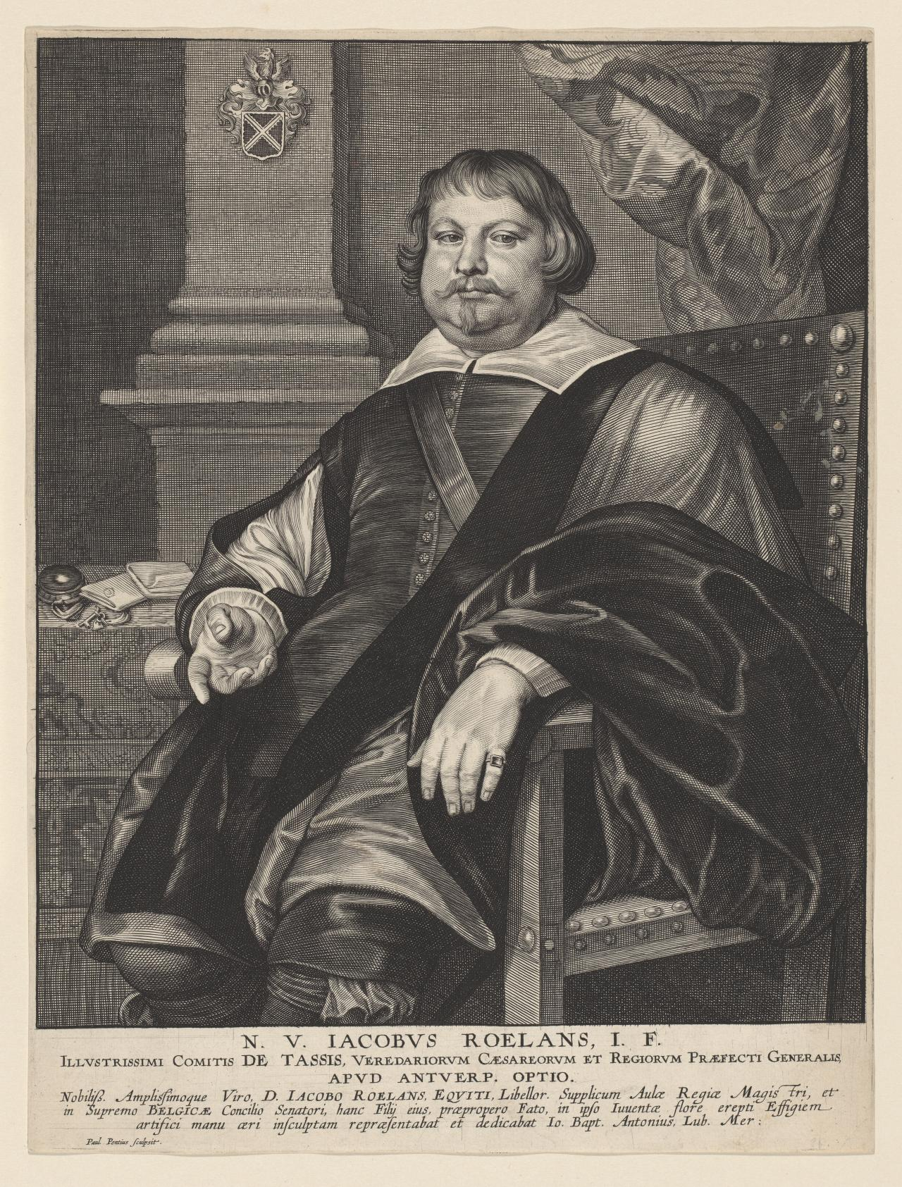 Jacob Roelans, Count of Tassis