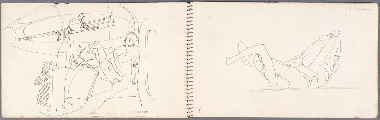 Sketchbook - By air from New Guinea