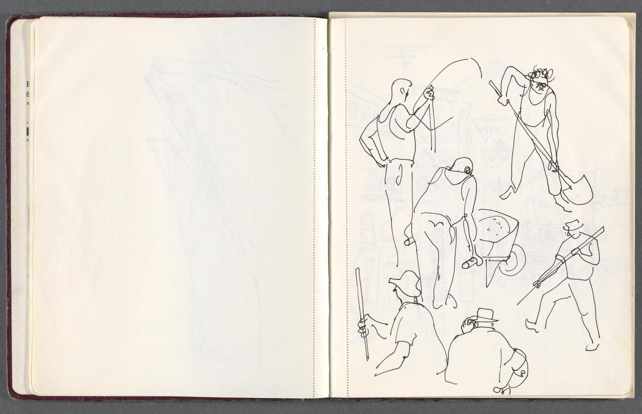 Sketchbook - Lilydale, animals