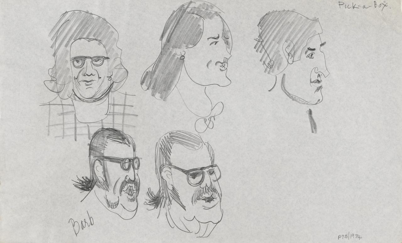 TV drawing: Pick-a-Box; Barb (and other contestants)