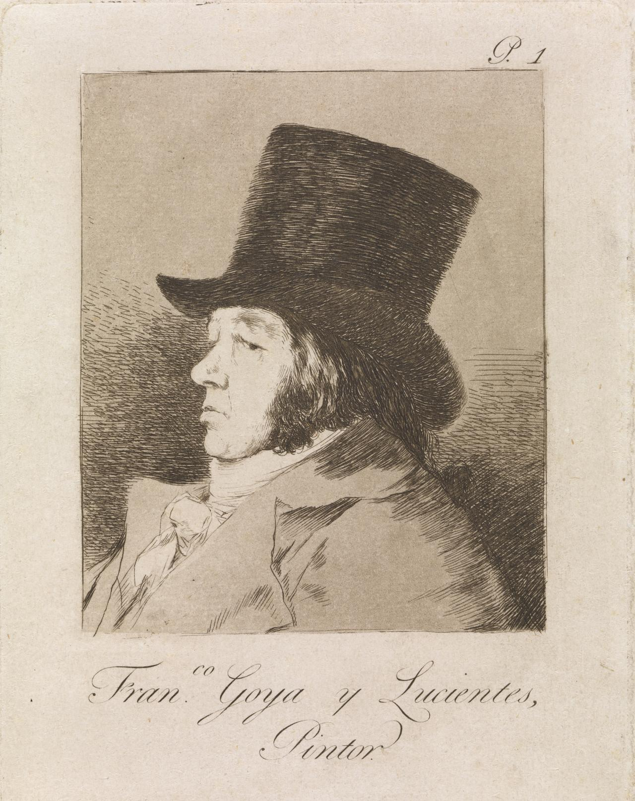 Francisco Goya y Lucientes, Painter