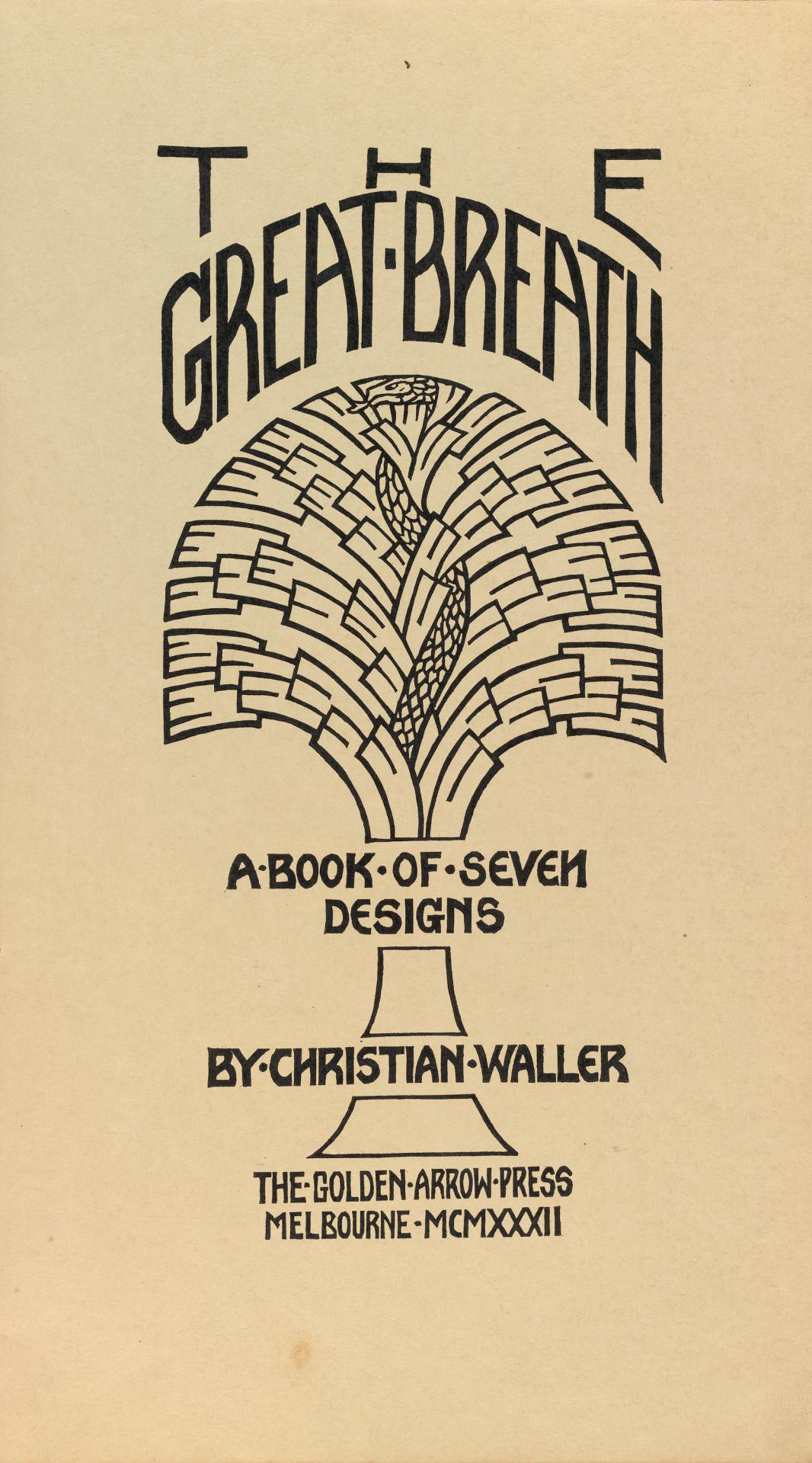 The Great breath - a book of seven designs