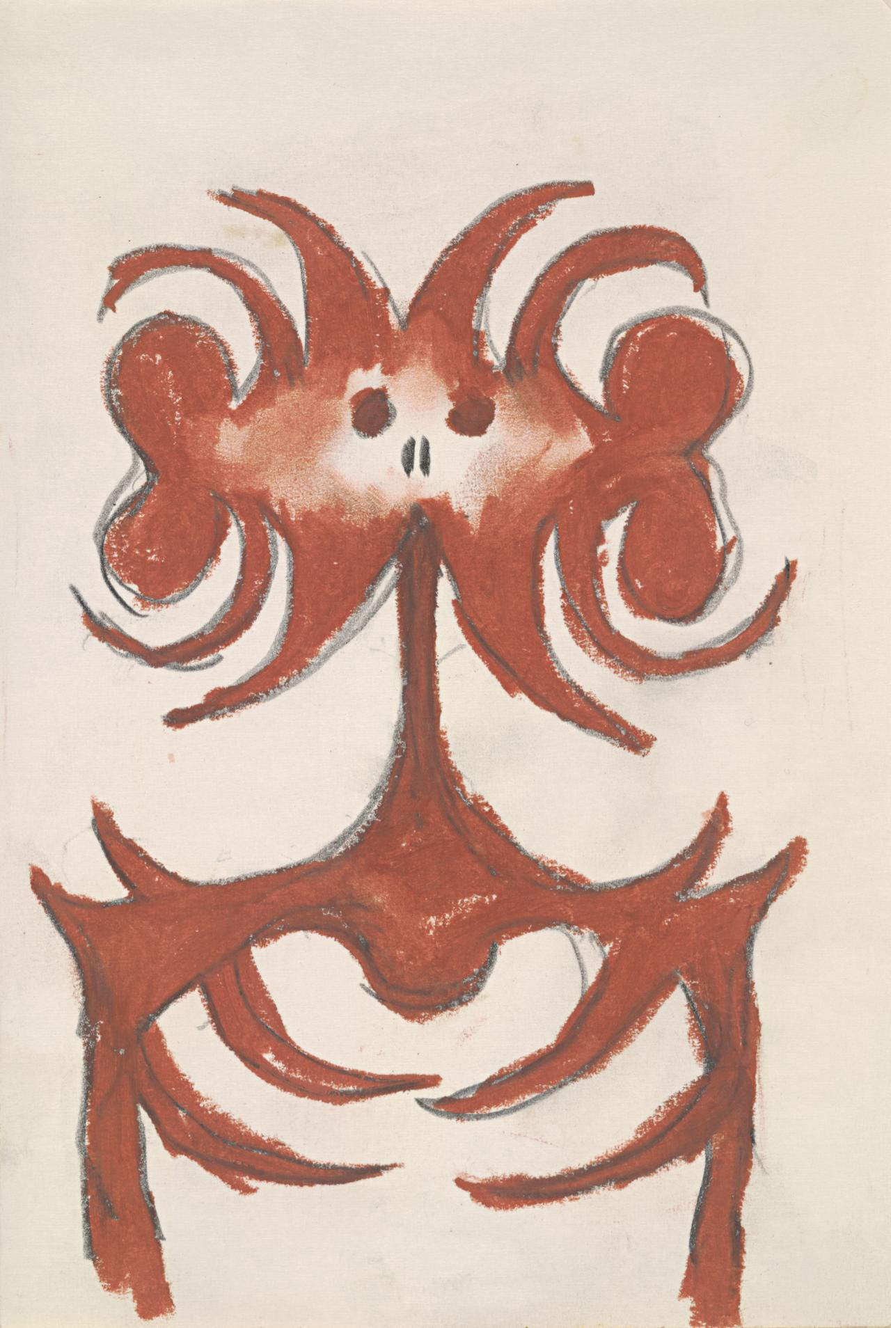 (Sepik Victoriana - Sketch from Sepik River Shield)