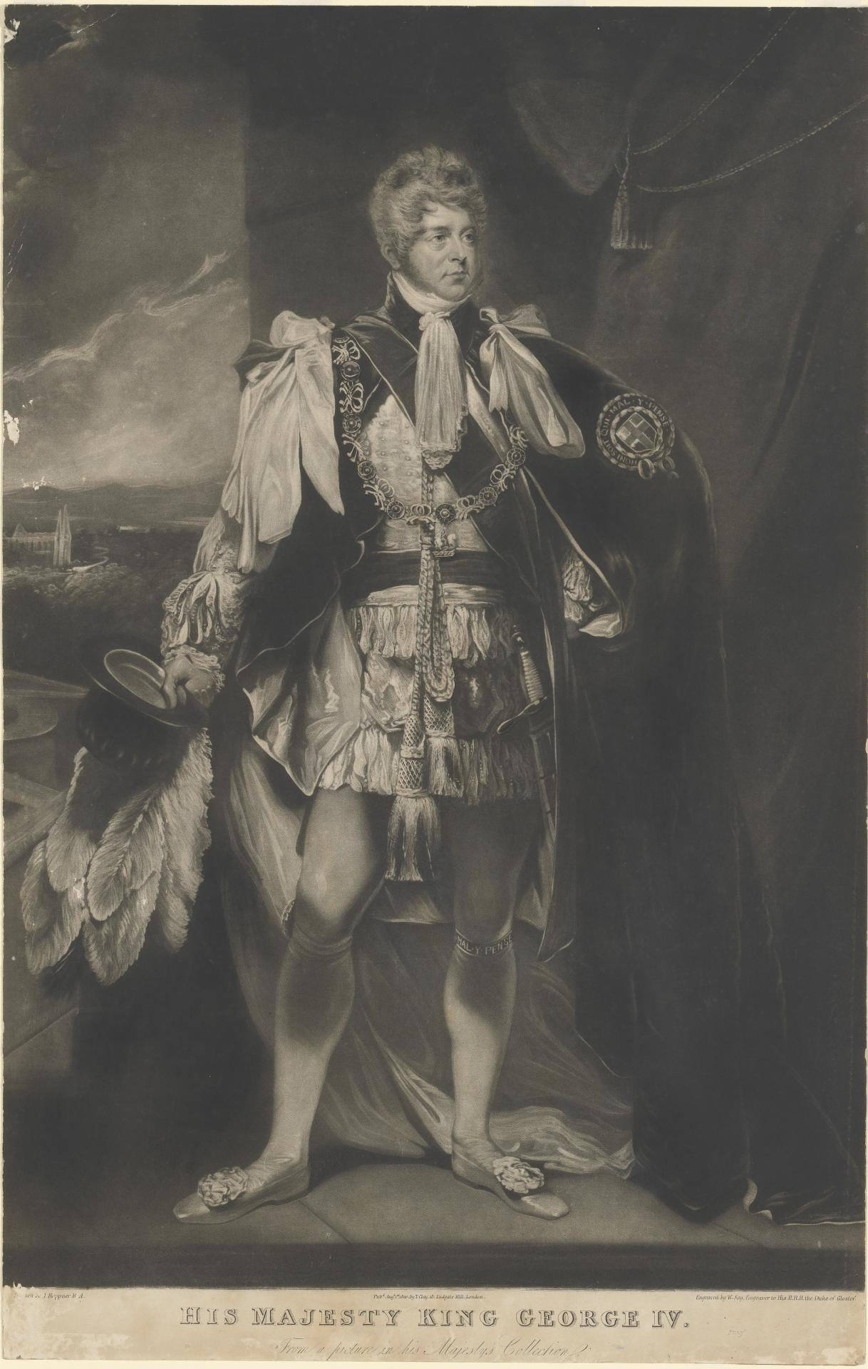 His Majesty King George IV