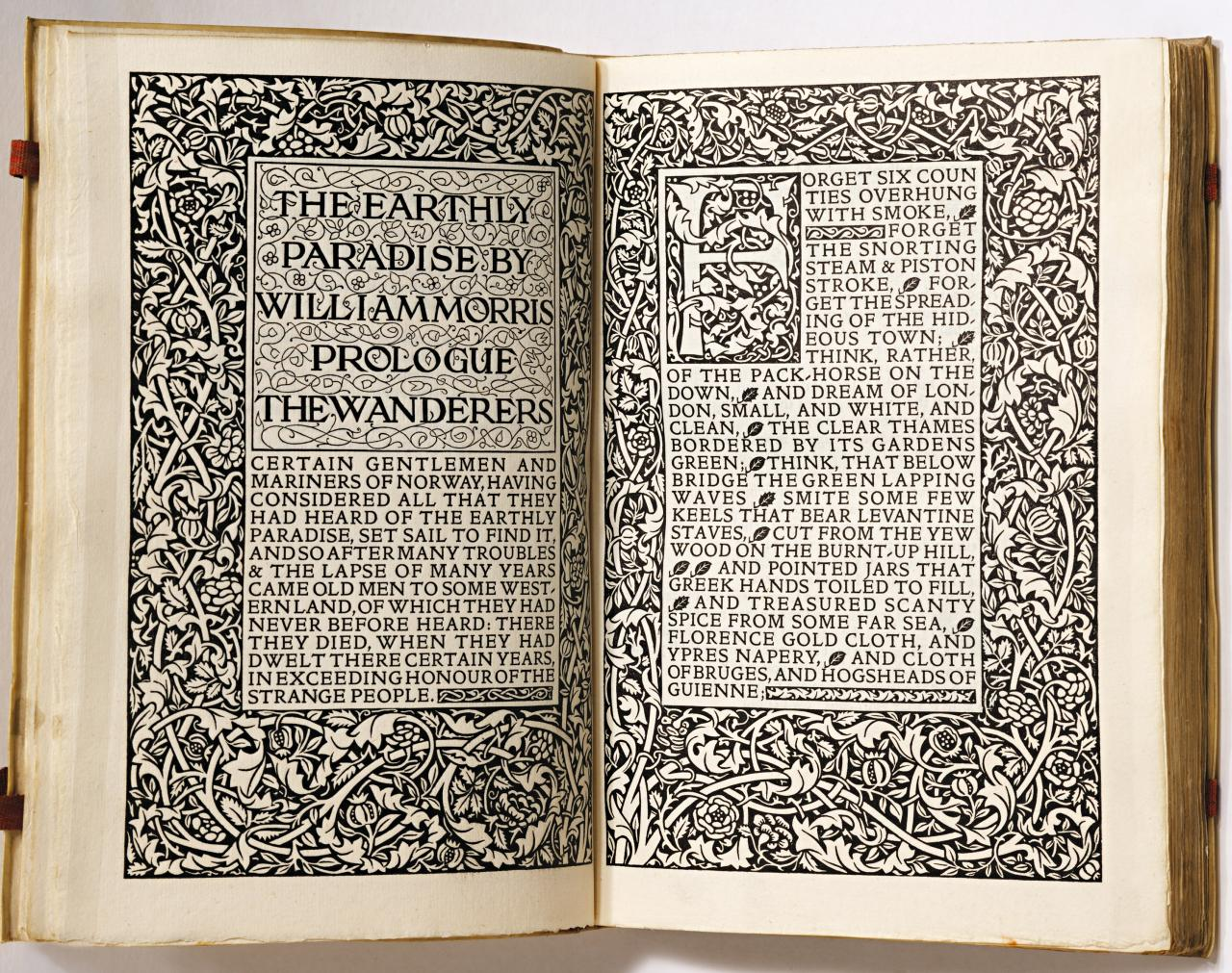 The Earthly Paradise by William Morris. Vol 1