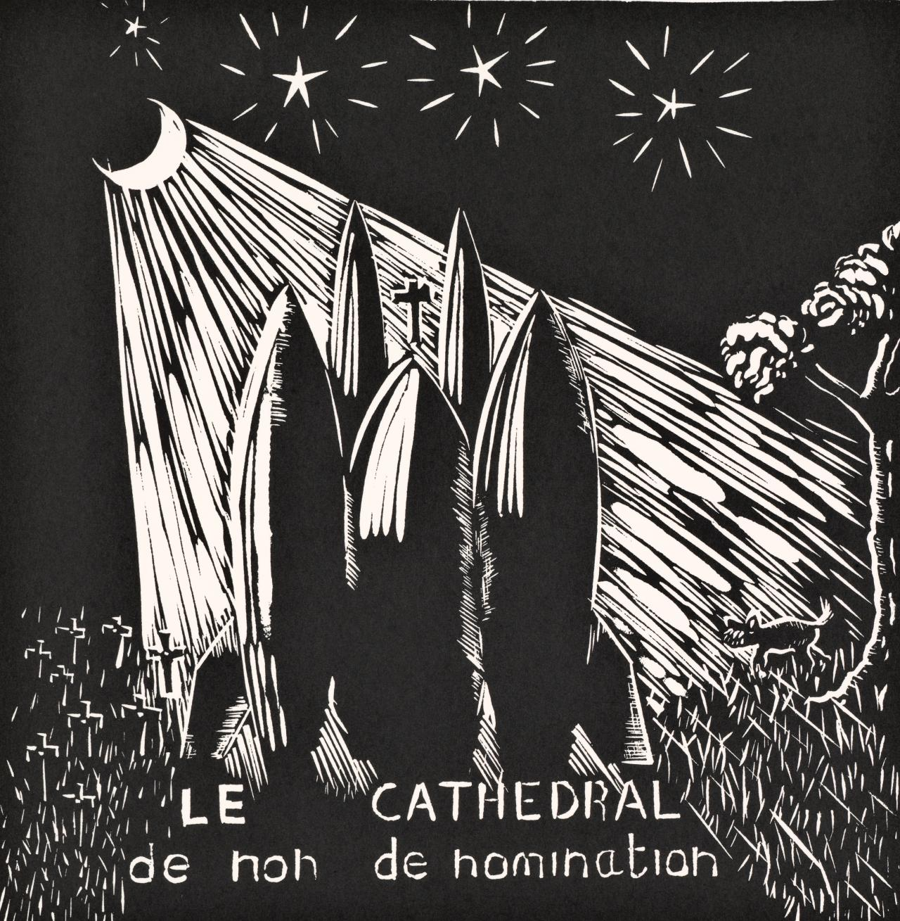 Le cathedral de non de nomination (or the worried dog)