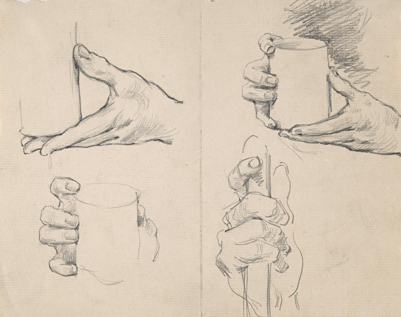 Studies of hands