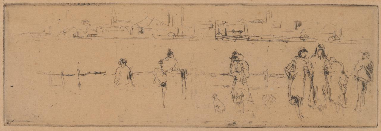 A Sketch on the Embankment