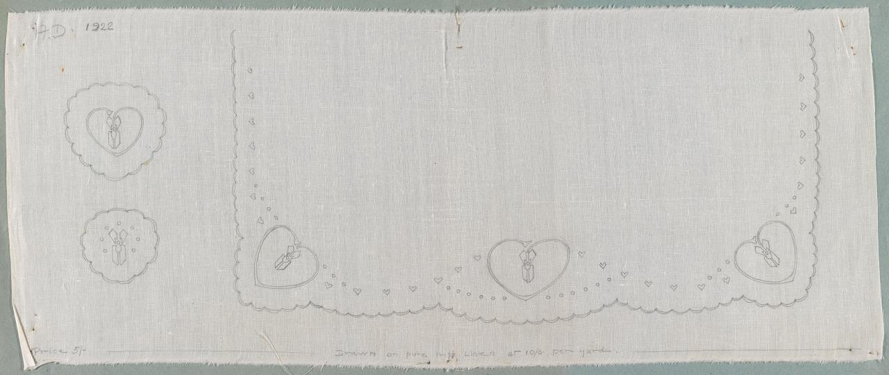 Design for an embroidered border