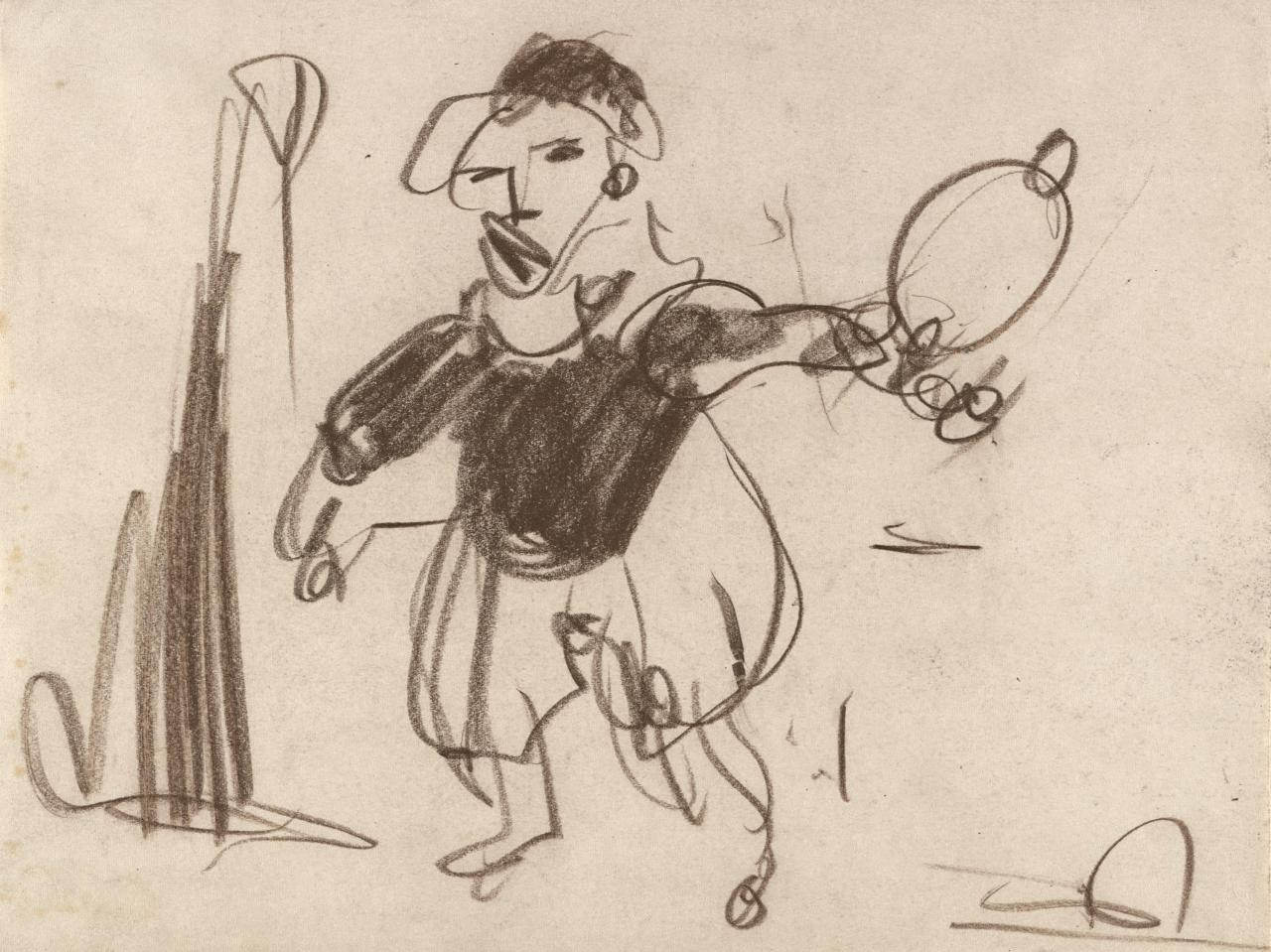 Drawing for Vaudeville - Juggler