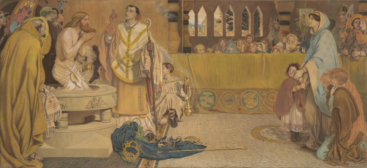 The Baptism of Edwin, King of Northumbria