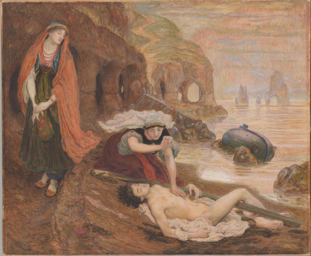The finding of Don Juan by Haidée