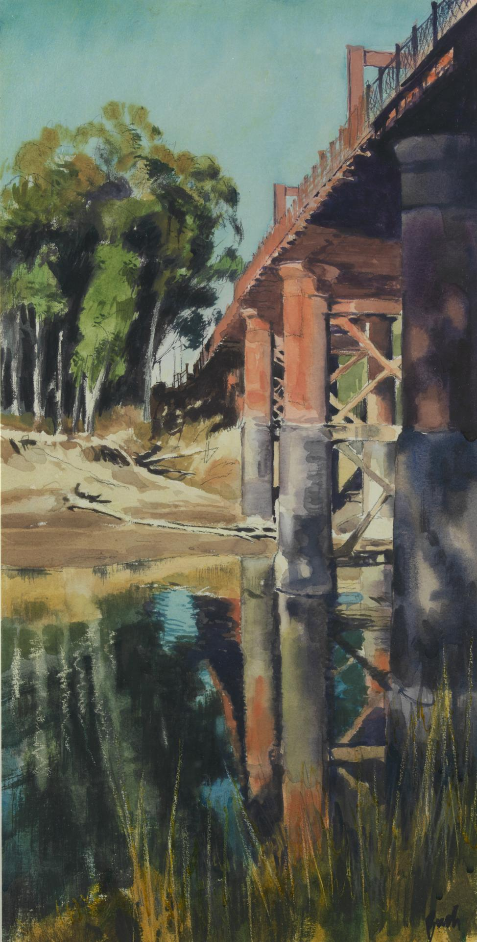 Bridges at Echuca