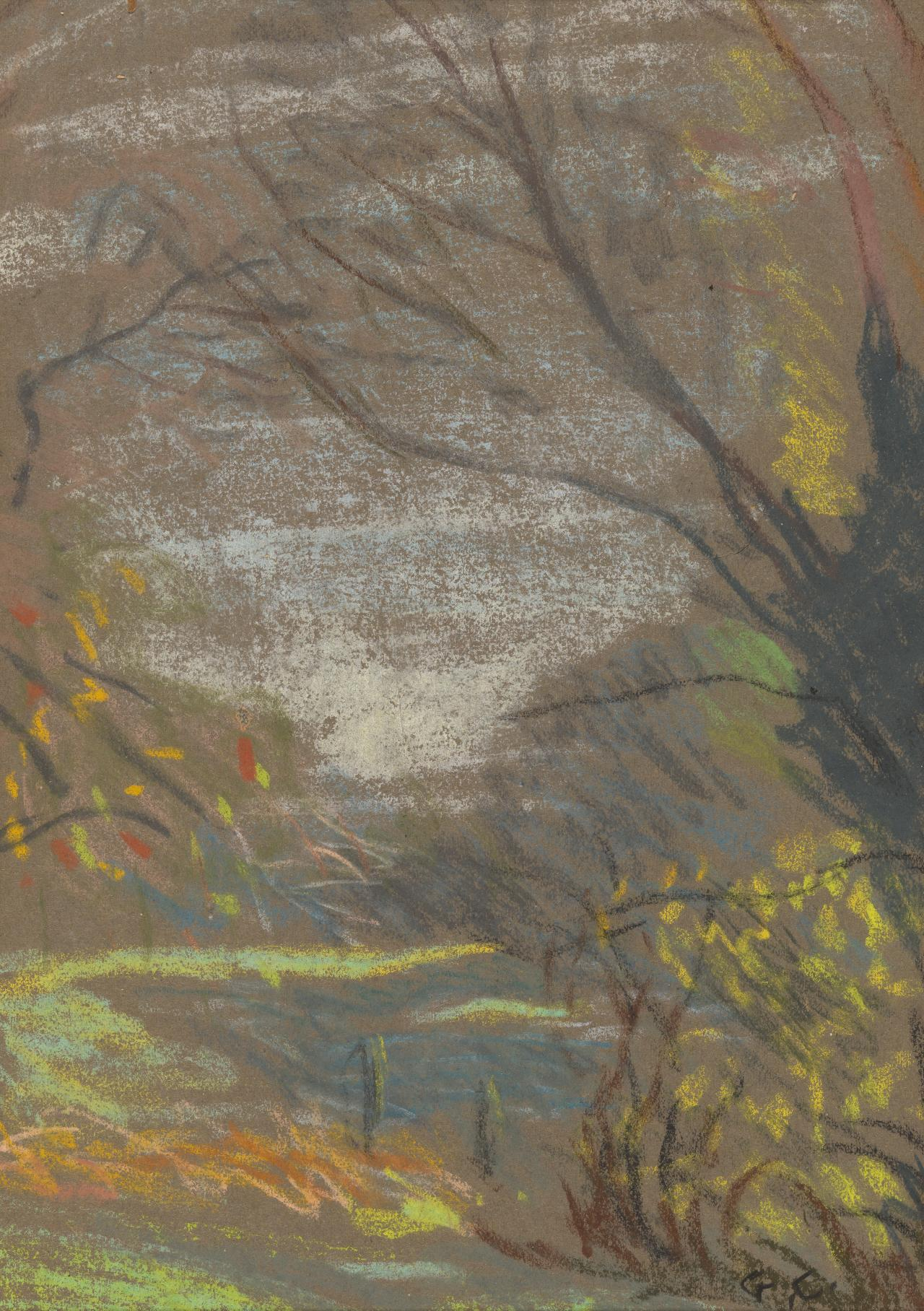 Landscape Detail: Sketch for the Ploughman's Breakfast