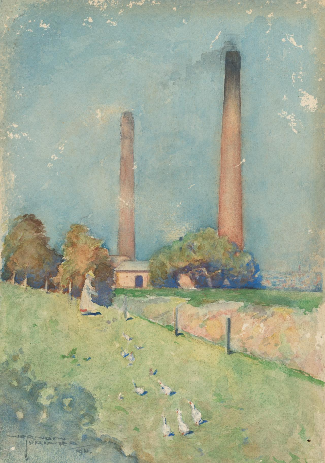 Brick kilns, South Yarra